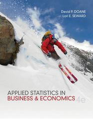 Applied Statistics in Business and Economics 4th Edition 9780073521480 0073521485