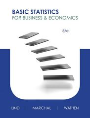 Basic Statistics for Business and Economics 8th edition 9780077769390 0077769392