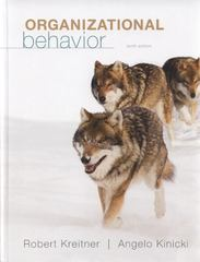 Organizational Behavior 10th edition 9780078029363 0078029368