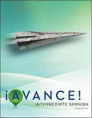 Avance! Student Edition 3rd Edition 9780073385396 0073385395