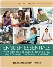 English Essentials 3rd edition 9780073533322 0073533327