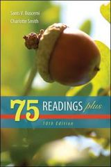 75 Readings Plus 10th Edition 9780077426446 0077426444