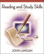 Reading and Study Skills 10th edition 9780077434786 0077434781