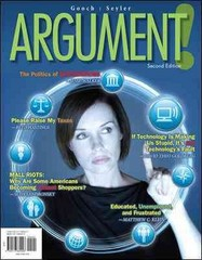 ARGUMENT! 2nd edition 9780073384023 007338402X