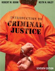 Introduction to Criminal Justice 7th Edition 9780078111532 0078111536