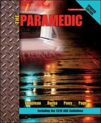 The Paramedic Updated Edition 1st Edition 9780077563882 0077563883