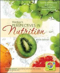 Wardlaw's Perspectives in Nutrition 9th Edition 9780073522722 0073522724