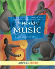 The World of Music 7th edition 9780078025167 0078025168