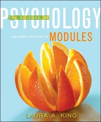 Modules: The Science of Psychology 1st Edition 9780078035494 007803549X