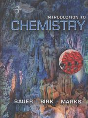 Introduction to Chemistry 3rd edition 9780073402673 0073402672