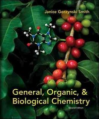 General, Organic, & Biological Chemistry 2nd edition 9780073402789 0073402788