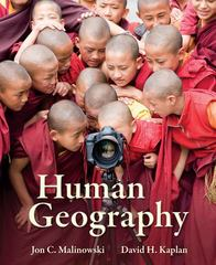 Human Geography 1st Edition 9780073122946 0073122947