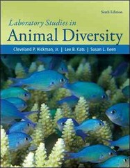 Laboratory Studies for Animal Diversity 6th edition 9780077345976 0077345975