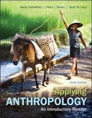 Applying Anthropology 10th Edition 9780078117046 0078117046