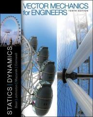 Vector Mechanics for Engineers 10th edition 9780073398136 0073398136