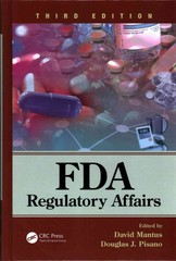 FDA Regulatory Affairs 3rd Edition 9781841849195 1841849197