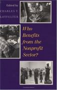 Who Benefits from the Nonprofit Sector? 0 9780226110523 0226110524