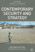 Contemporary Security and Strategy 2nd edition 9780230520967 0230520960