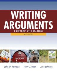 Writing Arguments 9th edition 9780205171637 020517163X