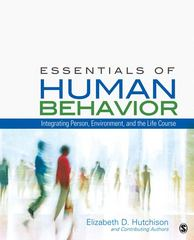 Essentials of Human Behavior 0 9781412998840 1412998840