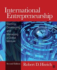 International Entrepreneurship 2nd Edition 9781452217390 1452217394