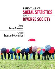 Essentials of Social Statistics for a Diverse Society 1st Edition 9781452205830 1452205833