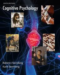 Cognitive Psychology 6th edition 9781133313915 1133313914
