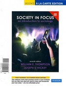 Society in Focus: An Introduction to Sociology, Census Update, Books a la Carte Plus MySocLab with eText -- Access Card Package 7th edition 9780205203499 0205203493