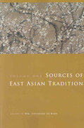 Sources of East Asian Tradition 0 9780231143059 0231143052