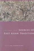 Sources of East Asian Tradition 1st Edition 9780231143233 0231143230