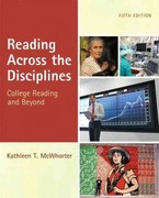 Reading Across the Disciplines (with MyReadingLab Pearson eText Student Access Code Card) 5th edition 9780205220540 0205220541