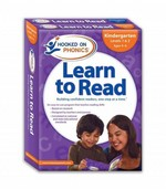 Kindergarten Learn to Read 1&2/Word Families 3&4 (Hooked on Phonics) 1st Edition 9781604991437 1604991437