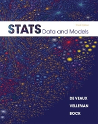 Stats: Data and Models, Books a la Carte Plus MSL -- Access Card Package 3rd edition 9780321782700 0321782704