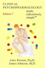 Clinical Psychopharmacology Made Ridiculously Simple 7th edition 9781935660057 1935660055