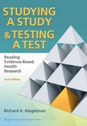 Studying A Study and Testing a Test 6th Edition 9780781774260 0781774268