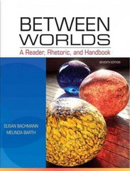 Between Worlds 7th edition 9780205251261 0205251269