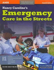 Nancy Caroline's Emergency Care In The Streets (2 Volume set) 7th Edition 9781449645861 1449645860
