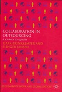 Collaboration in Outsourcing 1st Edition 9780230362994 0230362990