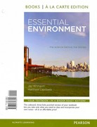 Essential Environment: The Science behind the Stories, Books a la Carte Plus MasteringEnvironmentalScience with eText -- Access Card Package 4th edition 9780321802736 032180273X