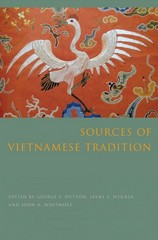 Sources of Vietnamese Tradition 1st Edition 9780231138635 0231138636