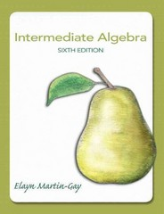 Intermediate Algebra 6th Edition 9780321785046 0321785045