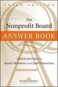 The Nonprofit Board Answer Book 3rd Edition 9781118096116 1118096118
