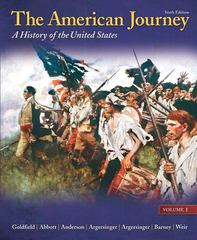 The American Journey 6th edition 9780205245932 0205245935