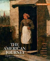 The American Journey 6th edition 9780205245956 0205245951
