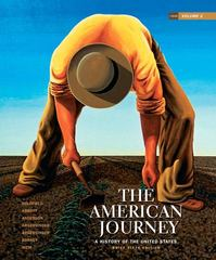 The American Journey 6th edition 9780205245970 0205245978