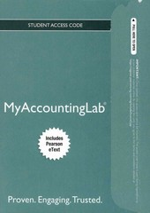 NEW MyAccountingLab with Pearson eText -- Access Card -- for Financial & Managerial Accouting 3rd edition 9780132913737 0132913739