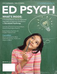 ED PSYCH (with CourseMate Printed Access Card) 1st Edition 9781111841935 1111841934