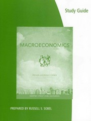 Coursebook for Gwartney/Stroup/Sobel/Macpherson's Macroeconomics: Private and Public Choice 14th edition 9781133561651 1133561659