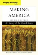 Cengage Advantage Books: Making America 6th edition 9780840028716 0840028717