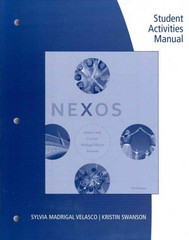 Student Activities Manual for Nexos 3rd Edition 9781111833251 1111833257